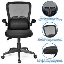 Load image into Gallery viewer, Office Chair Massage Lumber Pillow Ergonomic