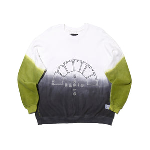 MANKIND RADIO WHITE DEEP DYE - CREWNECK