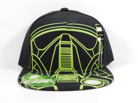 Star Wars Glow In The Dark Helmet Snapback