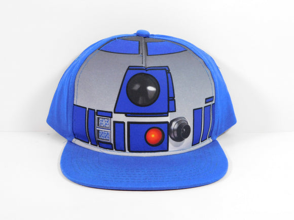 Star Wars R2D2 Blue Snapback