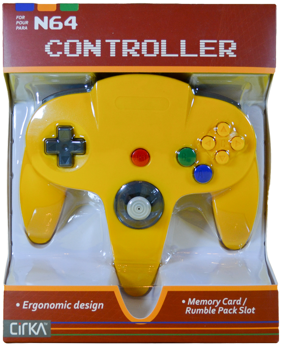 N64 C/R Yellow [Cirka]