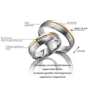 MARRYA Titan Partnerring Damen