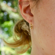 Load image into Gallery viewer, Gold Filled Dew Drop Earrings