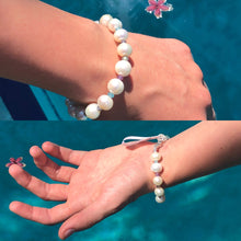 Load image into Gallery viewer, Surf Swell Pearl and Gemstone Bracelet