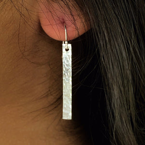 Glimmer Bar Dangle Earrings