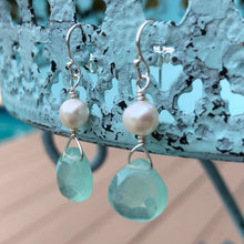Load image into Gallery viewer, Sea Clouds Earrings
