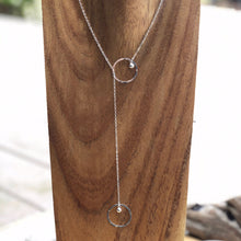 Load image into Gallery viewer, Satellite Lariat Necklace