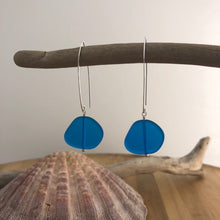 Load image into Gallery viewer, Sea Swag Sea Glass Earrings