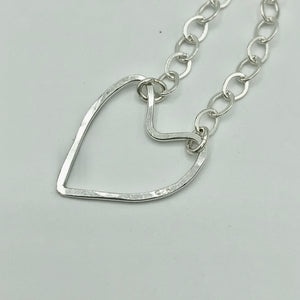 Wonky Hearts 30 inch Interchangeable Necklace