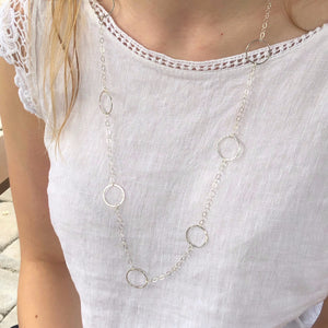 Chain the Moon Necklace