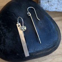 Load image into Gallery viewer, Glimmer Bar Dangle Earrings