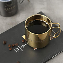 Load image into Gallery viewer, Titanium Vintage Coffee Mug (with lid)