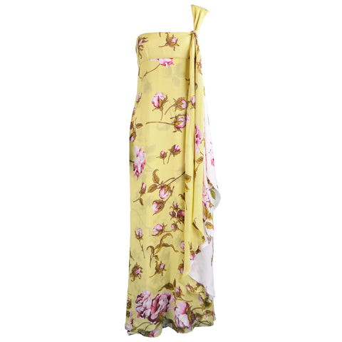 Preowned Valentino maxi dress for spring and summer