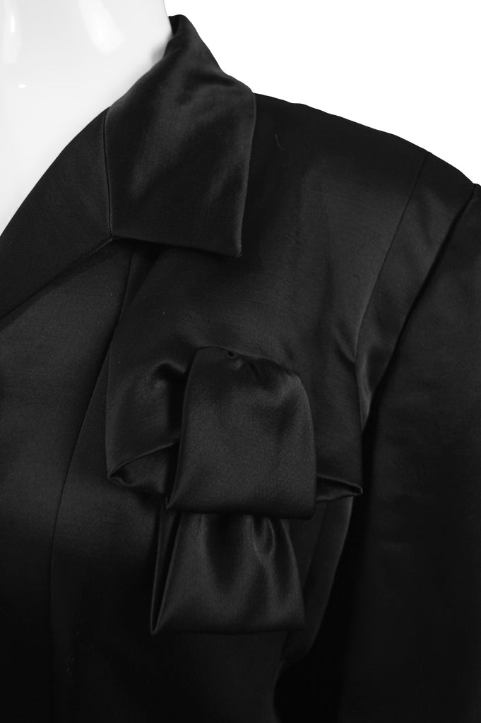 Black Satin Evening Jacket, 1996