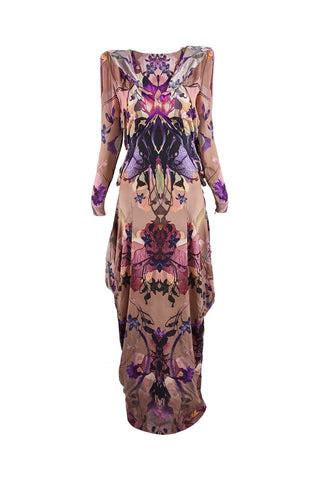 Vintage Cotton Swing Coat, Spring 1990