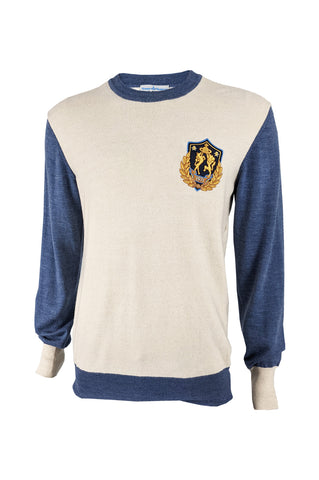 Mens Archival Prep Schoolboy Embroidered Sweater, A/W 2011