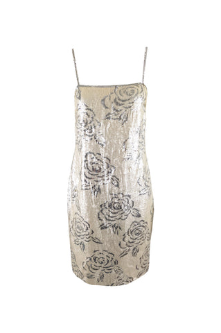 Vintage Silk Cut Out Dress, Fall 2002