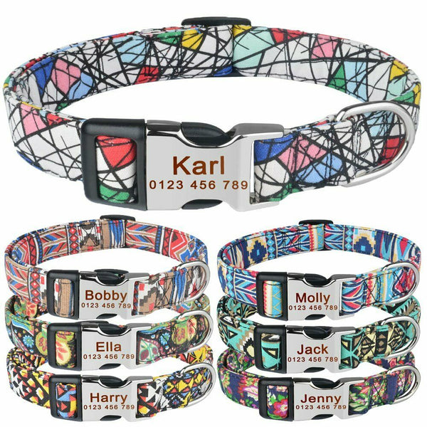 Custom Dog Collar Pets Collars My Fond Pets