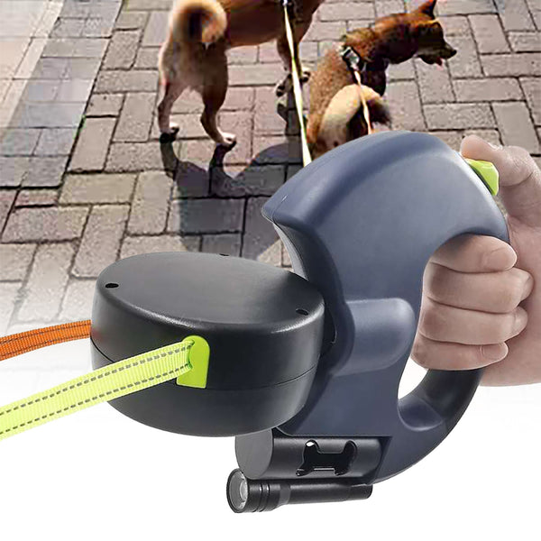 Automatic Retractable Double Head Leash Pet Accessories My Fond Pets