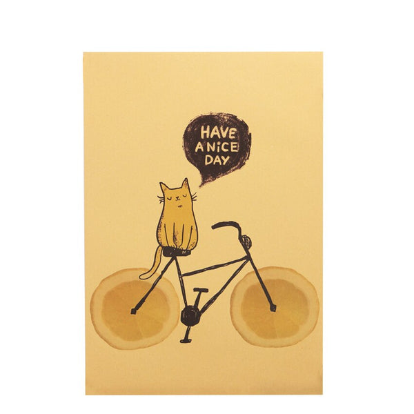 Cat On Bicycle Wall Stickers Pet Interactive Toy My Fond Pets