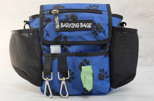 Blue-Canvas Paw Prints (Vegan Friendly)