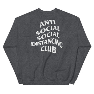 Unisex Sweatshirt | Anti Social Social Distancing Club