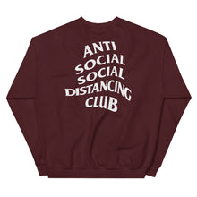 Load image into Gallery viewer, Unisex Sweatshirt | Anti Social Social Distancing Club