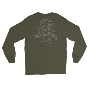 Men's Long Sleeve Shirt | Anti Social Social Distancing Club