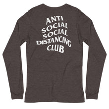 Load image into Gallery viewer, Unisex Long Sleeve Tee | Anti Social Social Distancing Club