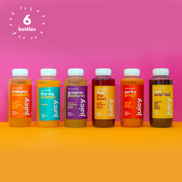 Bestselling Cold Pressed Juice Bundle