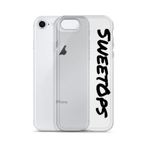 """SweetOps"" Black Text iPhone Case"