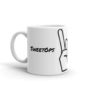 """SweetOps"" Mug with ""Rock On"" Hand"