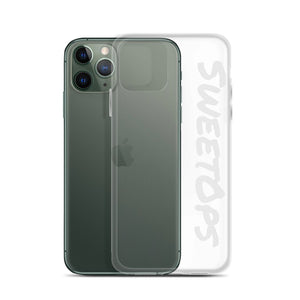"""SweetOps"" Light Grey Text iPhone Case"