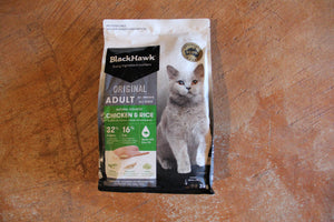 BLACK HAWK FELINE CHICKEN & RICE