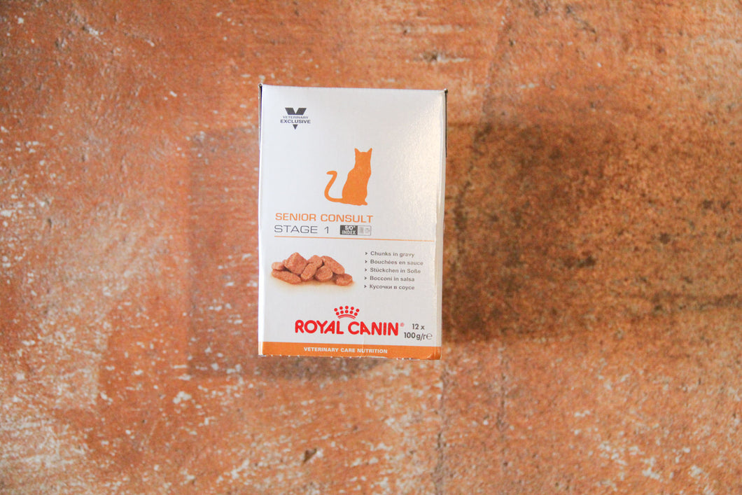 ROYAL CANIN SENIOR CONSULT S1 12X100G