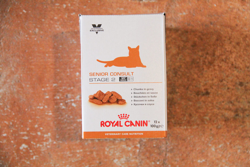 ROYAL CANIN SENIOR CONSULT S2 12X100G