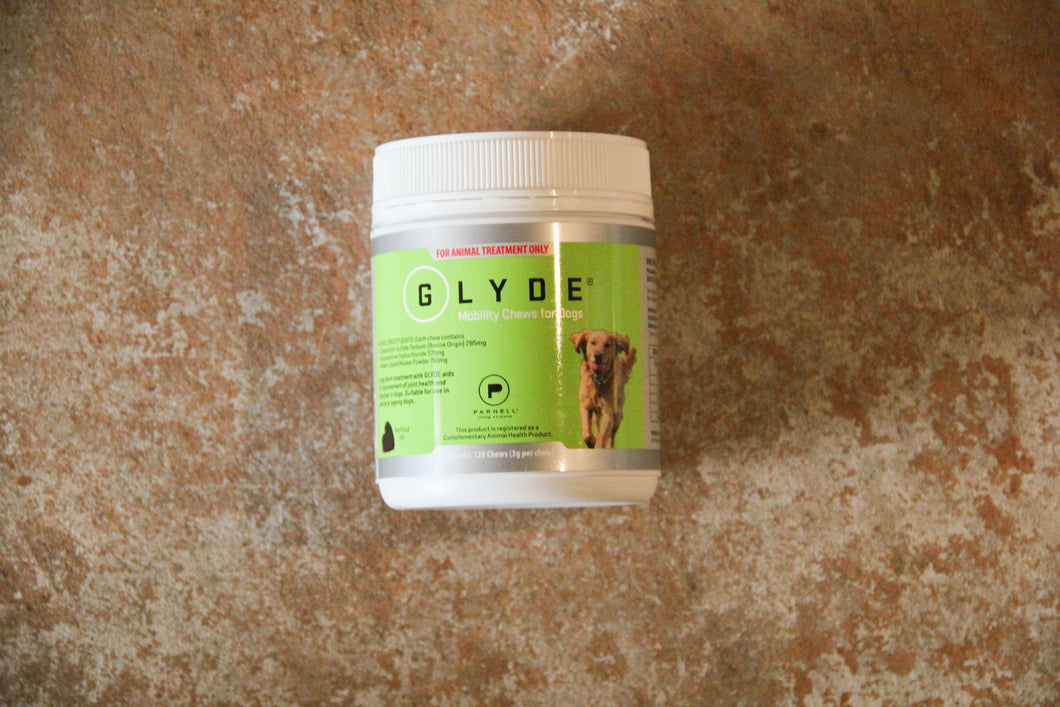 GLYDE MOBILITY CHEWS DOG 120