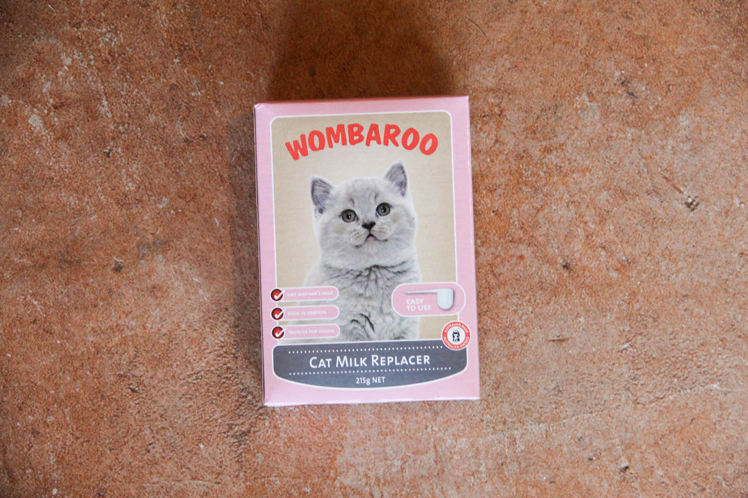 WOMBAROO CAT MILK 215G