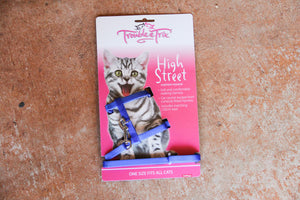 T&T HIGH STREET STRETCH HARNESS BLUE