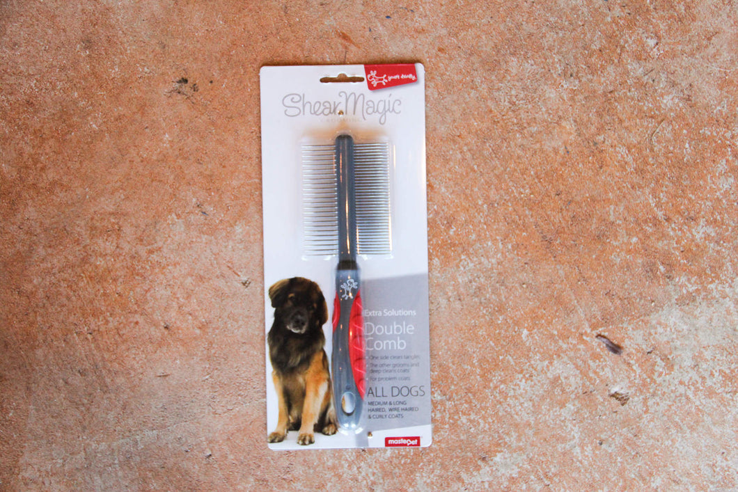 SHEAR MAGIC COMB DOUBLE SIDED