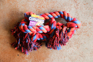 YOURS DROOLY CHEWERS CLOTH ROPE 90CM