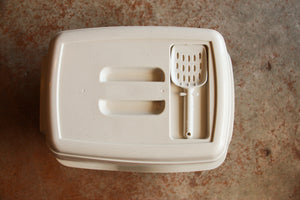 T&T COVERED LITTER TRAY WITH SCOOP