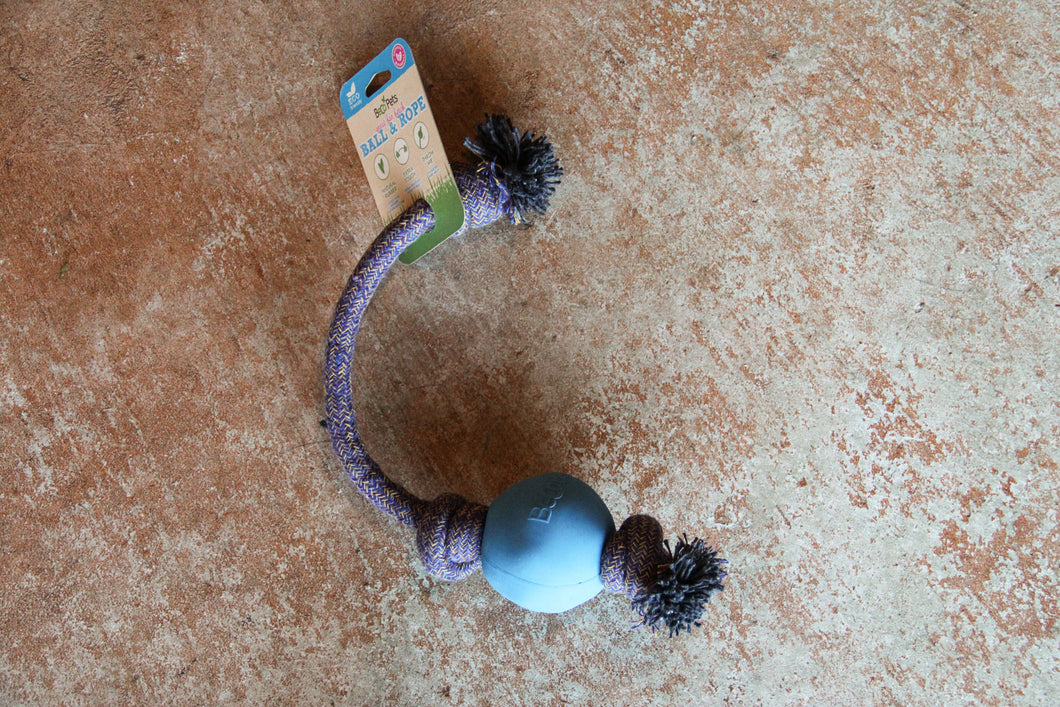 BECO ROPE BALL BLUE LARGE