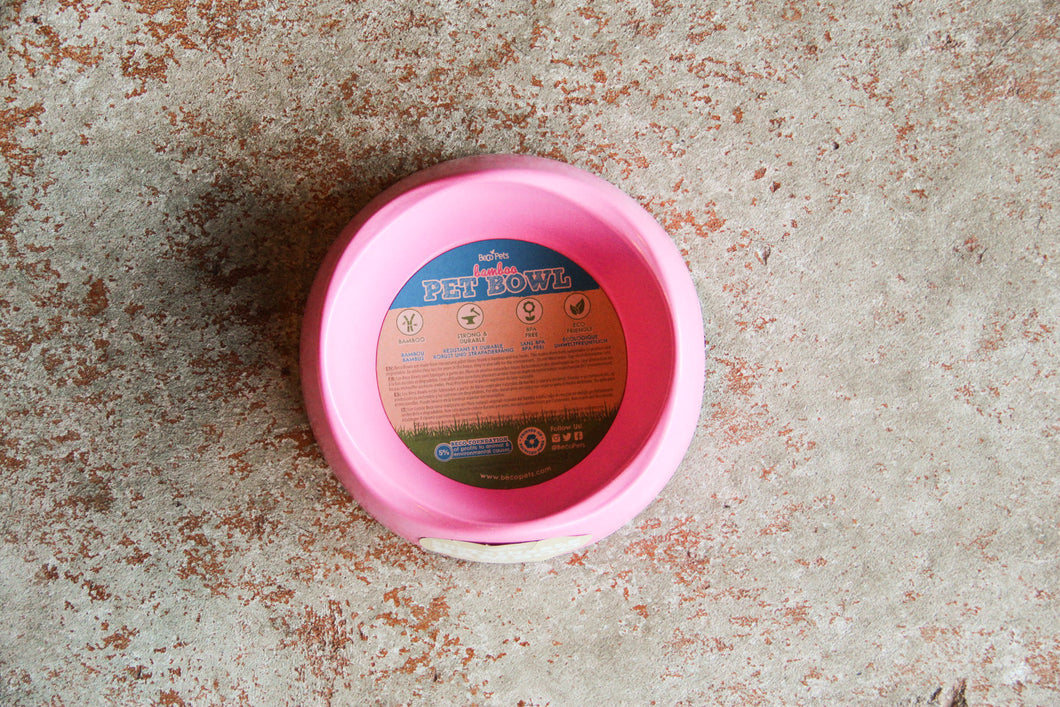 BECO BOWL PINK MEDIUM