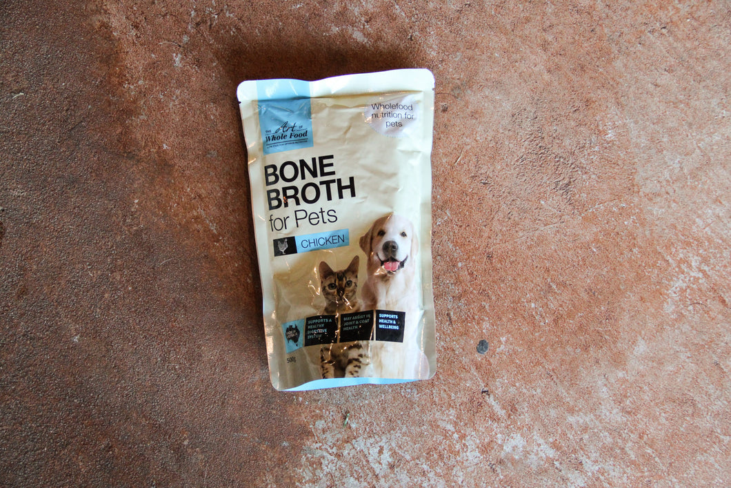 BONE BROTH FOR PETS CHICKEN 500G