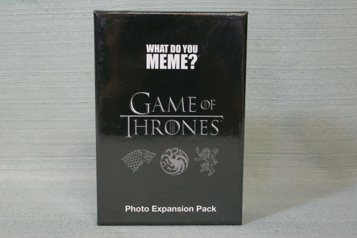 What Do You Meme? Game of Thrones Photo Expansion Pack ...