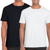 5 Pack Classic T-Shirt Bundle (Black & White)