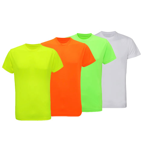 Pack of 5 Performance T-Shirts (Vivid Pack)