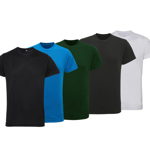 Pack of 5 Performance T-Shirts (Essentials Pack)