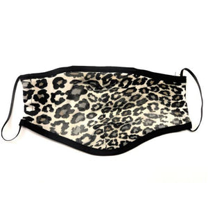 Reusable Face Mask (Leopard) (Packs of 100/250/500/1500)